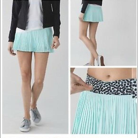 fead2f658b lululemon athletica Dresses & Skirts - Lululemon pleat to the street tennis  skirt